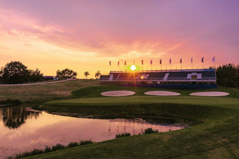Greeneagle Golf Courses Hole 18 Porsche Nord Course PEO 2019
